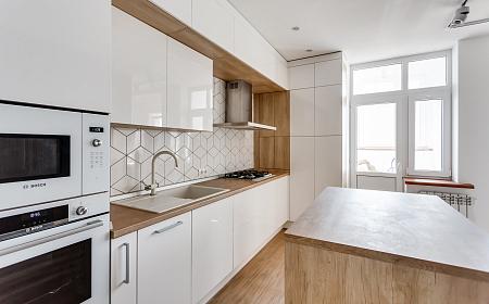 Кухня на заказ STM-2, заказать кухню, маленькие кухни из МДФ, цены ...   280x450